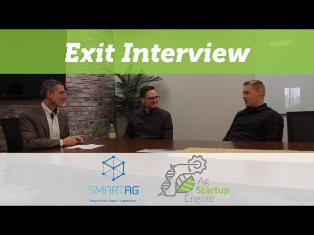 Video: Exit Interview with Colin Hurd of SmartAg