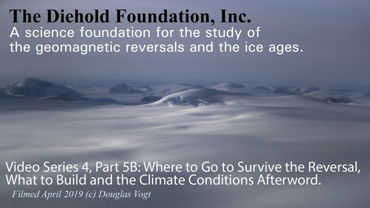 Where to go and how to survive the next pole shift and ice age