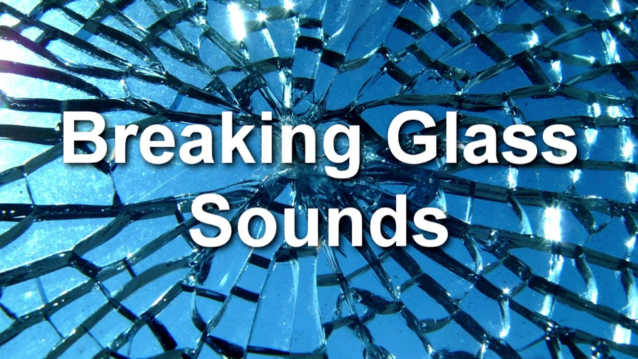 glass breaking video effect