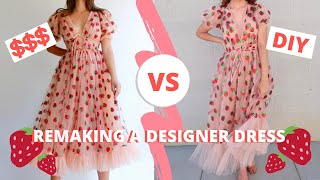 I Made The Lirika Matoshi Strawberry Dress  |  Style Studio  (P.S. I Made This)