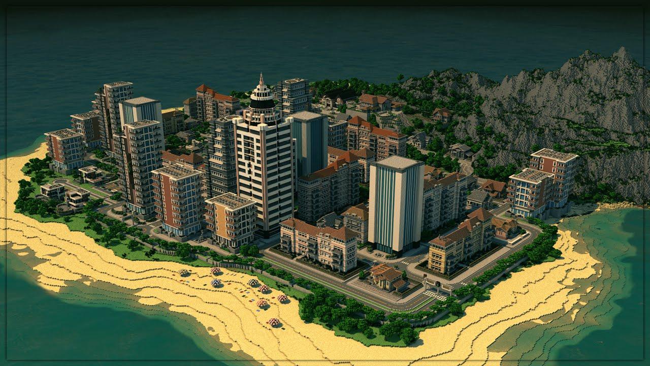A GTA World in Minecraft