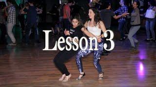 Lidar and Hadar Bachata Lesson 3