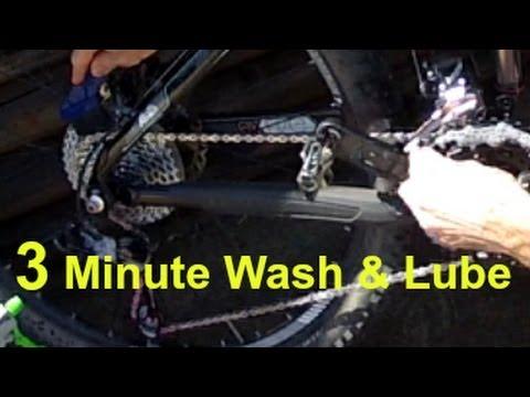 The BEST 3 Minute Bike Wash and Lube
