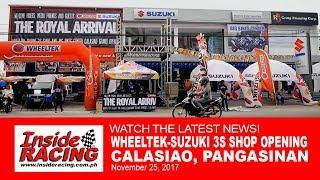 Wheeltek-Suzuki Opens 3S Shop in Calasiao, Pangasinan