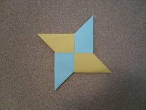 Origami Ninja Star Tutorial Youtube
