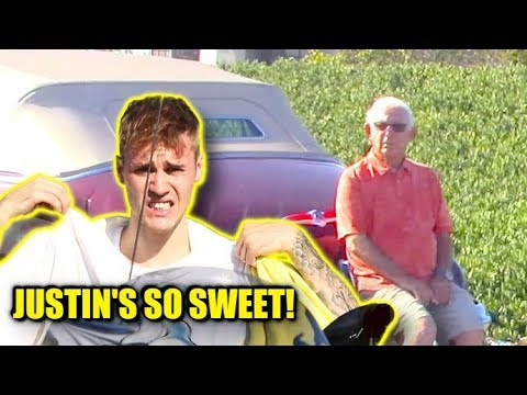 Justin Bieber Is SO SWEET And Helps Stranded Motorist On The Freeway