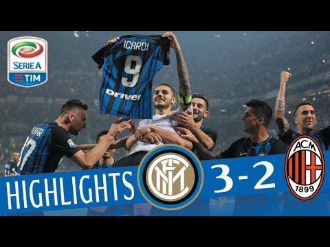 Inter - Milan 3 - 2 - Highlights - Giornata 8 - Serie A TIM