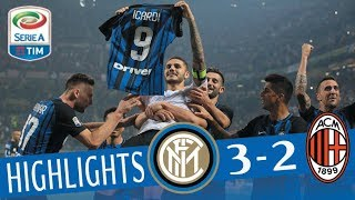 Inter - Milan 3 - 2 - Highlights - Giornata 8 - Serie A TIM 2017/18