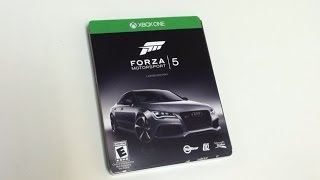 Limited Edition Forza Motorsport 5 Unboxing Xbox One