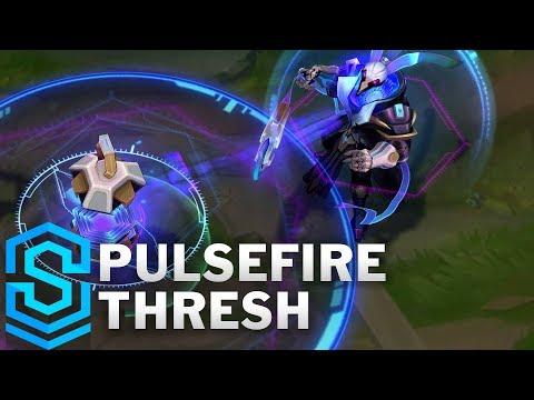 Pulsefire Thresh Skin Spotlight - Pre-Release - League of Legends