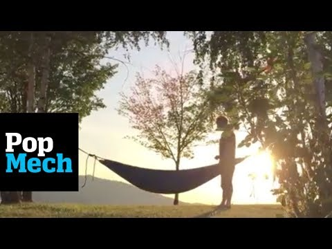 The Hydro Hammock is Your New Must Have Outdoor Accessory   PopMech