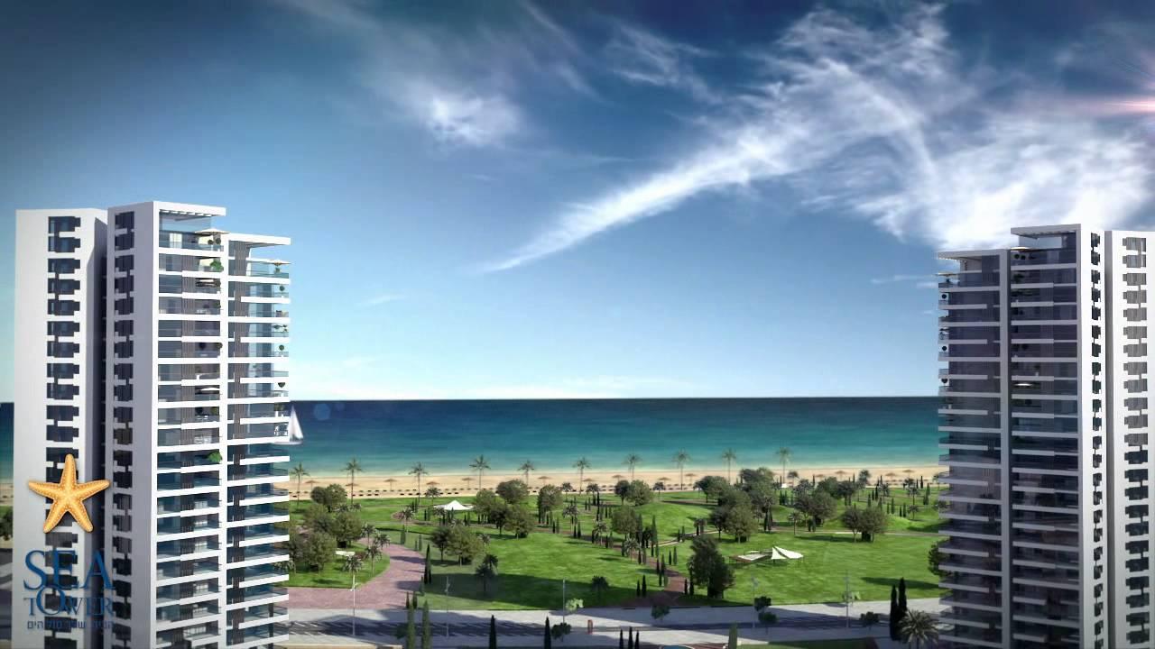 סופר פרויקט SEA TOWER - סי טאוור בת ים - YouTube EJ-59