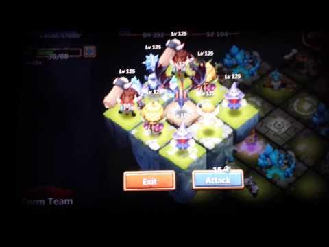 Castle Clash Lost Realm Win Vs Super Team