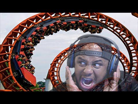 SCARIEST ROLLER COASTER EVER! (Planet Coaster #2) |
