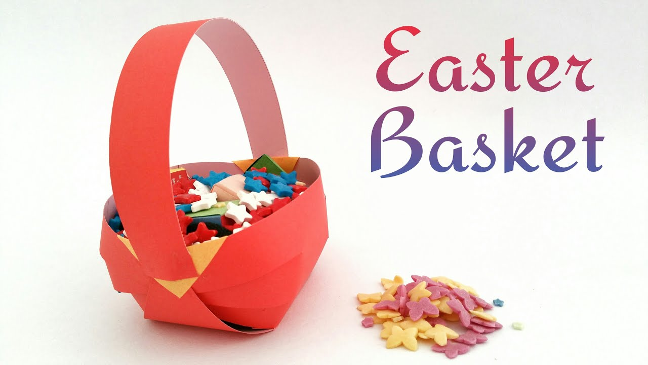 craft ideas for easter gifts easter basket diy tutuorial by paper folds 6162