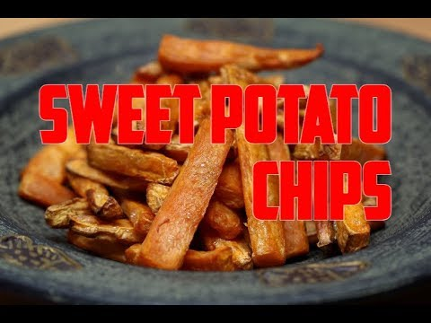 How To Make The World Best Sweet Potato Chips Recipe By | Chef Ricardo Cooking