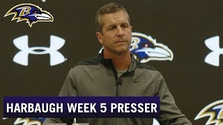 John Harbaugh: That's Not Ravens Football | Baltimore Ravens Press Conference