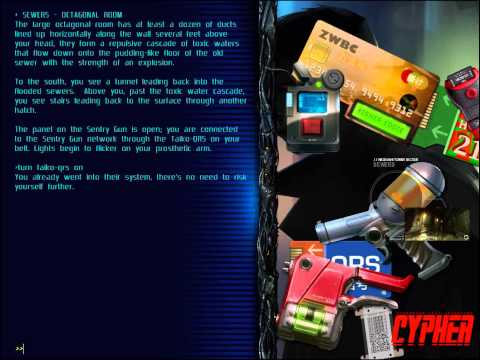 Let's Play Cypher: Cyberpunk Text Adventure (END?)