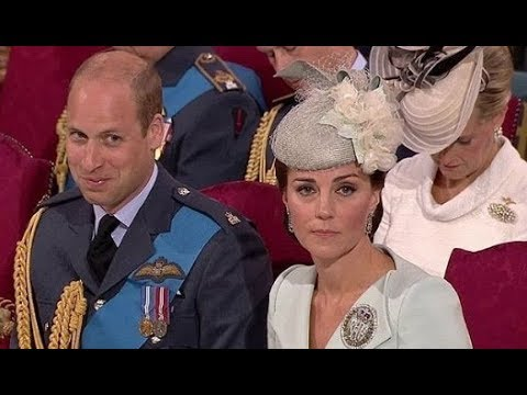 WATCH!!! Kate Middleton And Prince William SHARED A SWEET LAUGH In Westminster Abbey!!! [VIDEO]