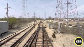 CTA Ride the Rails: Yellow Line to Dempster-Skokie in Real Time