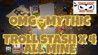 FORTNITE, SAVE THE WORLD - OMG - MYTHIC!!! TOOK EIGHT MONTHS TO GET ONE