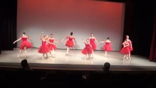 Ballet Arts of Austin Spring Recital 2017 - 5A/B Red Dance