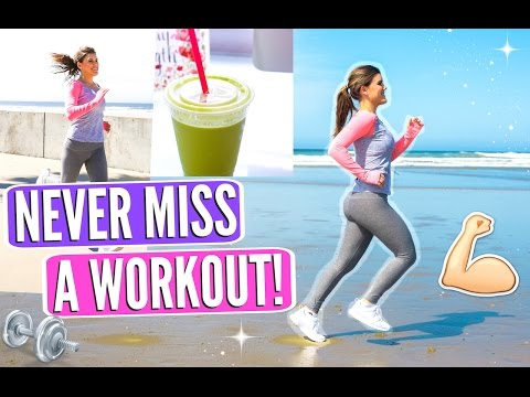 How To Never Miss A Workout! Fitness Hacks You NEED To Know!