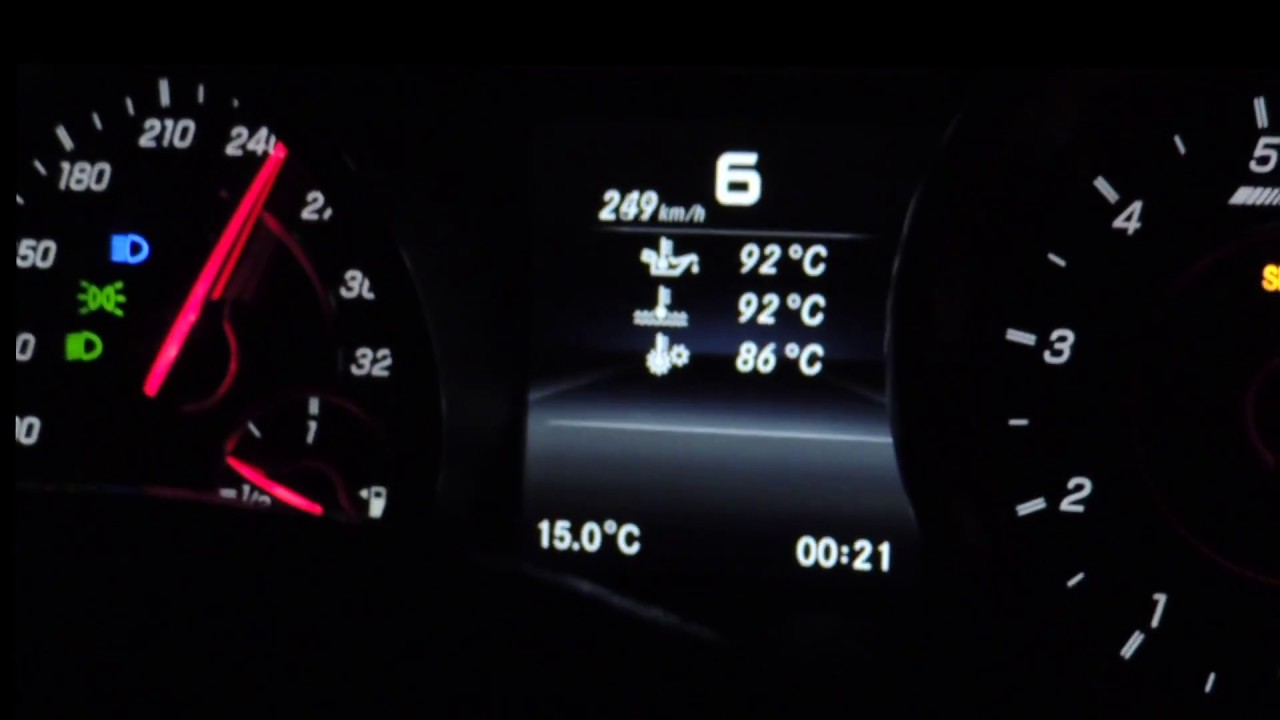 from 0 to top speed w/ new mercedes cla 45 amg restyling 381 hp