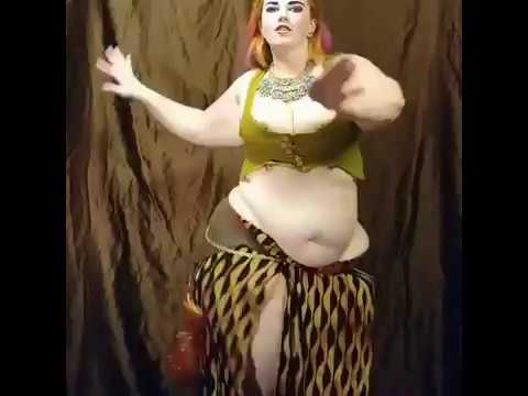 Bbw wife dancing naked