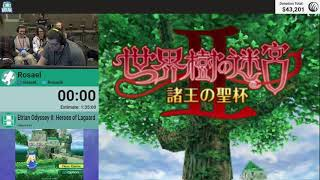 Etrian Odyssey II: Heroes Of Lagaard by Rosael (RPG Limit Break 2018 Part 20)