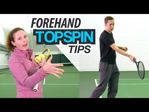How To: 3 Tips to IMPROVE Forehand Topspin Technique
