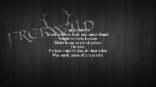 Frei.Wild: Wie ein schützender Engel (Lyrics)
