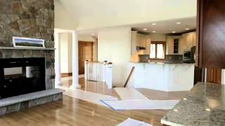 This New Construction Luxury Lake Home has 10 acres Directly on Winnipesaukee