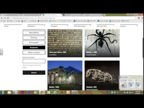 How to Browse KC Museums' Online Collections