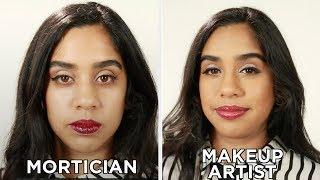 Mortician Vs. Makeup Artist: Makeup Challenge
