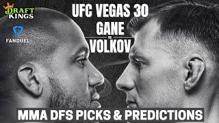 DraftKings MMA DFS: UFC Vegas 30 Card Best Bets, Picks, Lineup Advice, FanDuel Tips