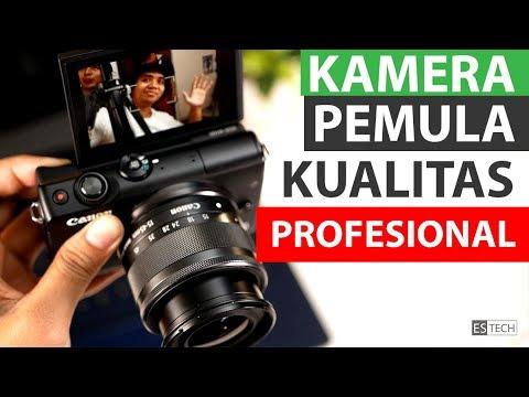 Kamera Mirrorless Pemula Rasa Profesional | Review Canon EOS M100 Bahasa Indonesia