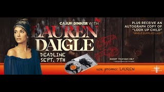 Be Lauren Daigle's Guest at the 2019 K-LOVE Fan Awards!
