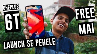 How to get OnePlus 6T for free before it