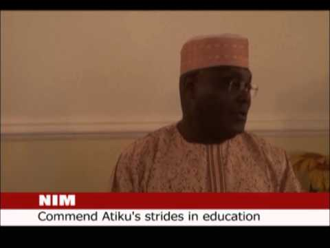 COURTESY VISIT BY NIM COMMEND ATIKU'S STRIDES INEDUCATION