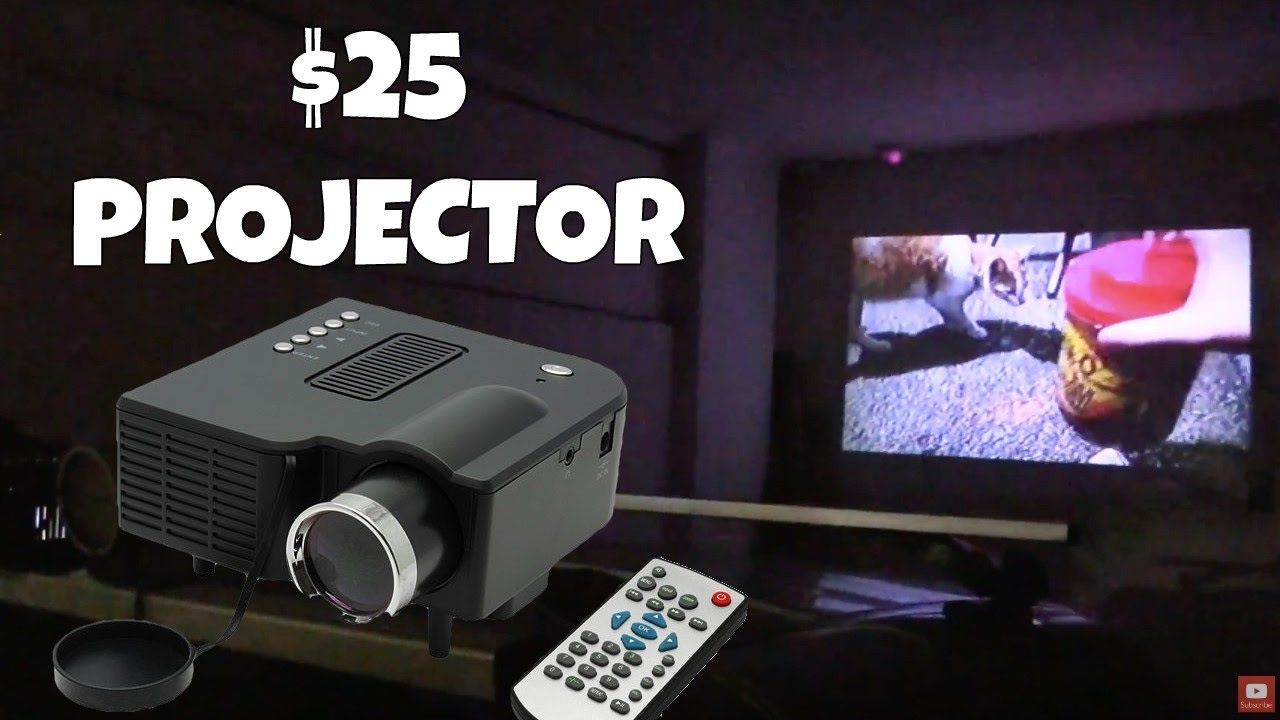 A 25 Hdmi Led Projector Unic Uc28 Youtube