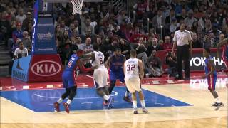 Blake Lobs Alley-Oop Pass to DeAndre Jordan for the Jam