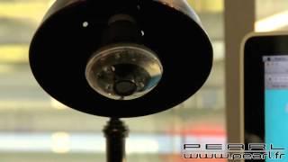 PX3752 - Ampoule à LED 3 W E27 avec caméra HD intégrée et LED infrarouges