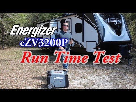 Energizer ezv3200 runtime test how long can this inverter - How long does a generator last ...