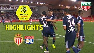 AS Monaco - Olympique Lyonnais ( 0-3 ) - Highlights - (ASM - OL) / 2019-20