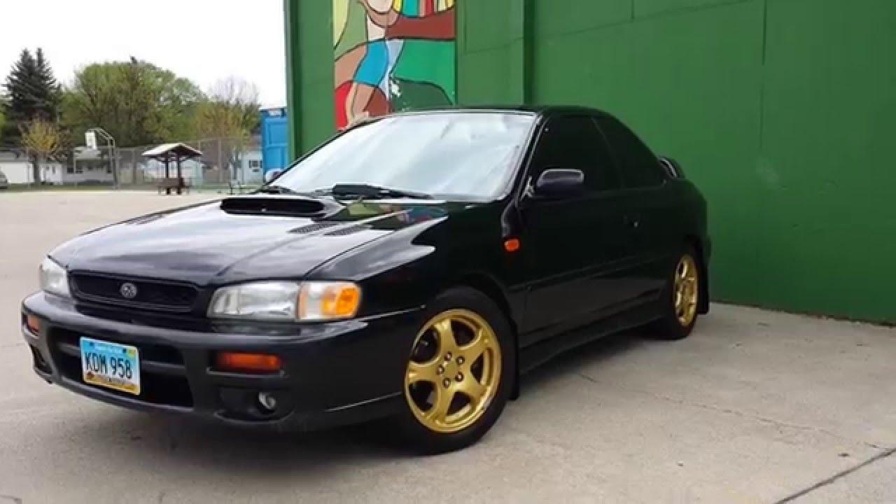 Subaru Impreza 2 5 Rs For Sale >> 1998 Subaru Impreza 2.5rs - YouTube
