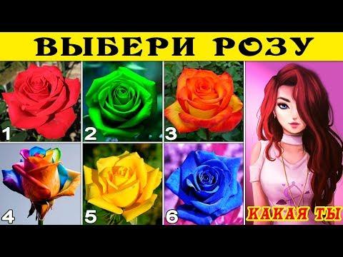 Тест! ТАЙНА ТВОЕГО ХАРАКТЕРА! Твой любимый цвет розы расскажет о ТВОЕМ ХАРАКТЕРЕ! Тесты для девушек