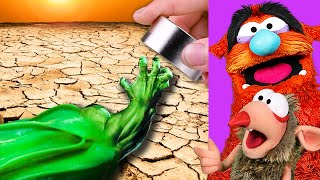 INSANE HULK MAGNETIC SLIME ASMR (MARVEL EXPERIMENTS!)