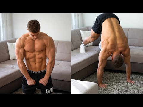 Full HOME Chest, Shoulder & Tricep Workout | NO EQUIPMENT