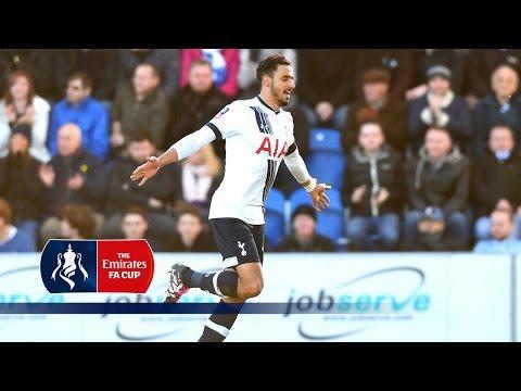 Colchester 1-4 Tottenham - Emirates FA Cup 2015/16 (R4) | Goals & Highlights